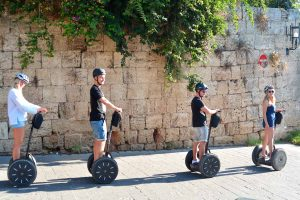 Rhodes by segway old city tour